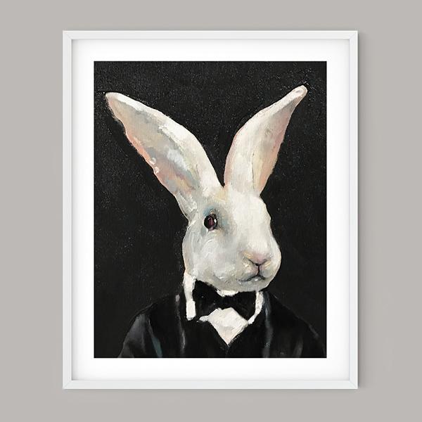 Bonny Rabbit, limited edition print