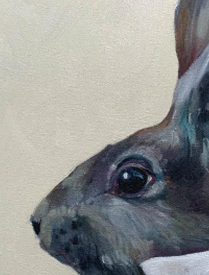 detail of Gabriel Rabbit Esq
